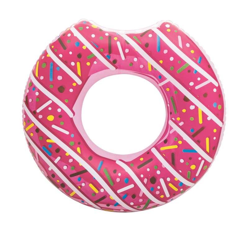 Bestway Can Simidi - Donut Desenli Kırmızı