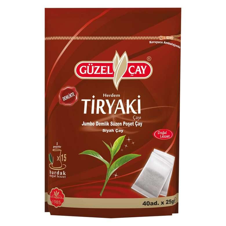 Güzel Çay Tiryaki Demlik Poşet  1000 G