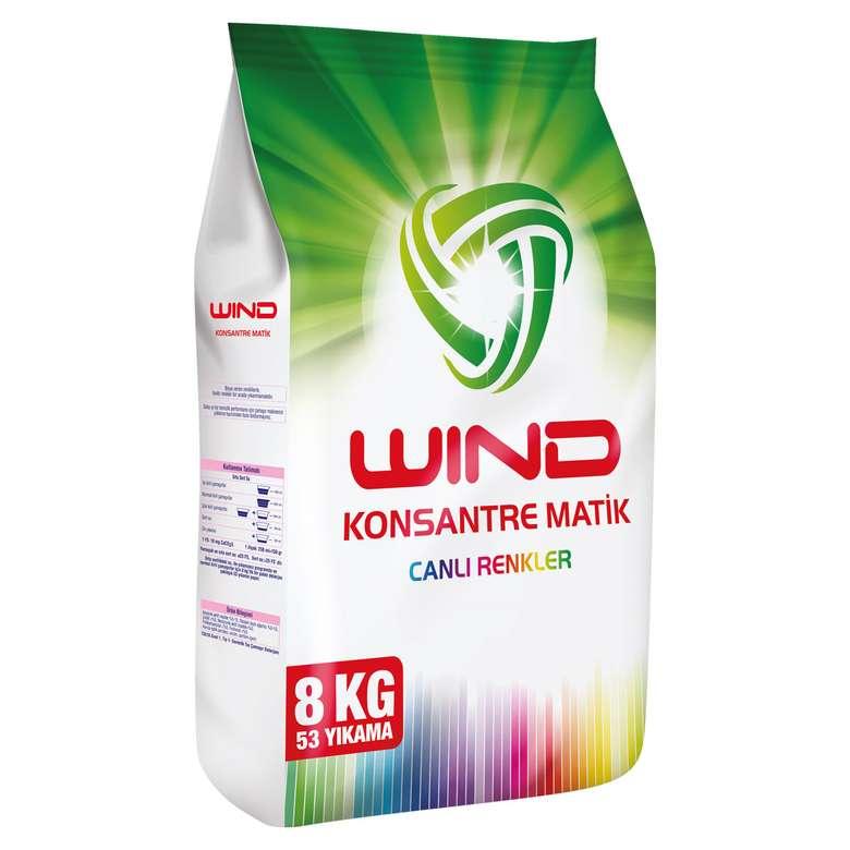 Windmatik Toz Deterjan Renkli 8 Kg