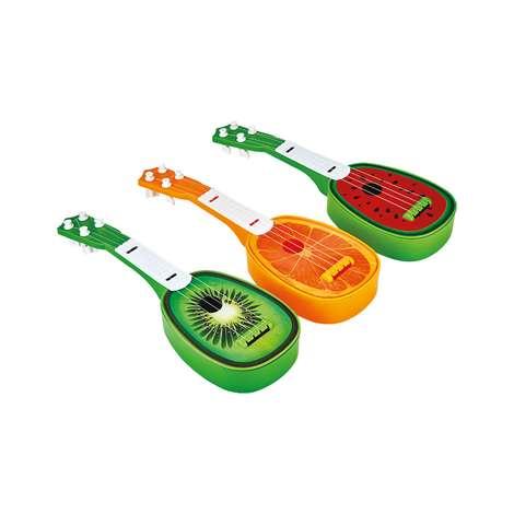 Oyuncak Meyve Desenli Gitar
