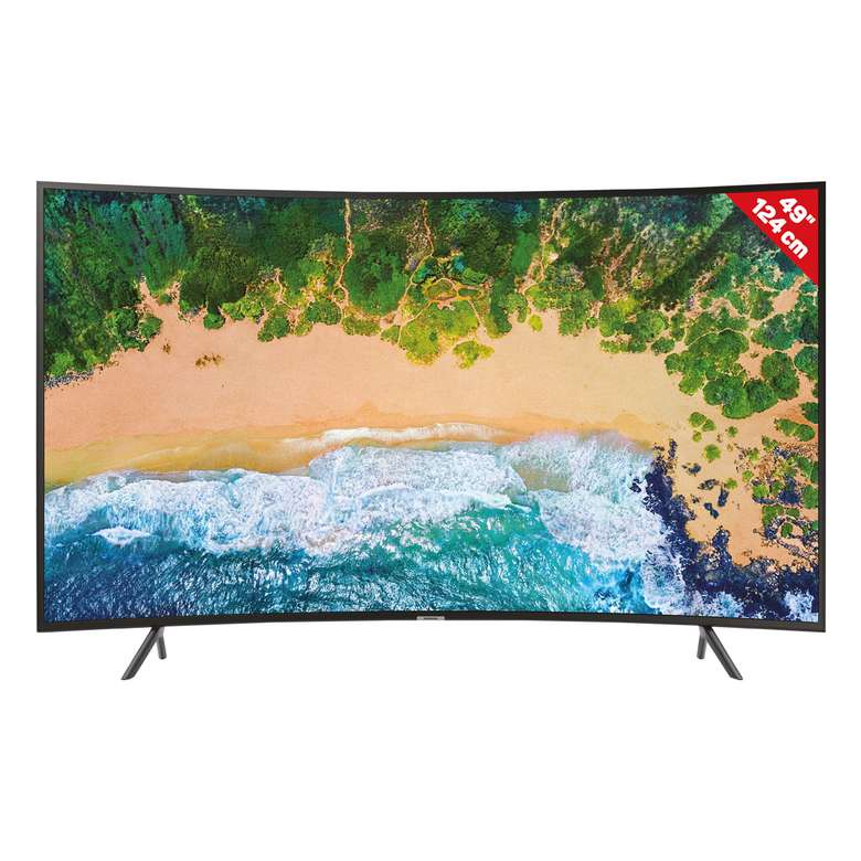 "Samsung 49NU7300 49""  Uhd Curved TV"