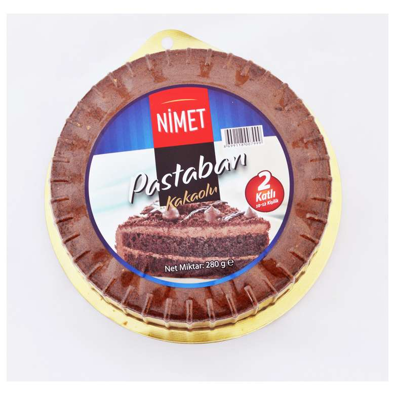Nimet Pasta Altı Kakaolu 280 G