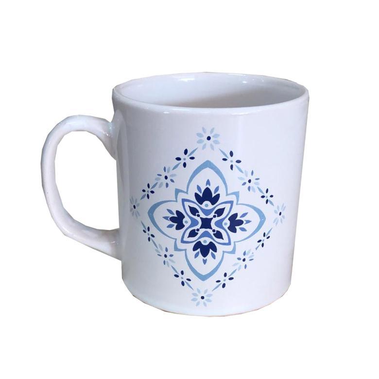 Keramika Kupa Mavi Dekor 10 Cm