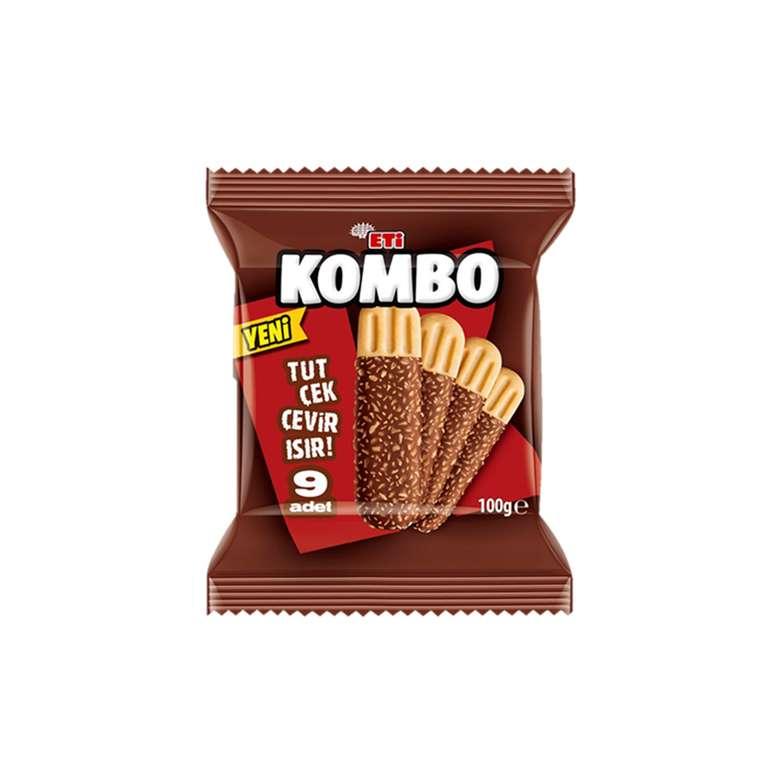 Eti Kombo Bisküvi Çikolata Kaplı Hindistan Cevizli 100 G