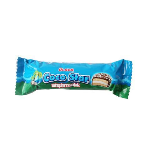 Ülker Cocostar Bisküvi Çikolata Kaplı 66 G
