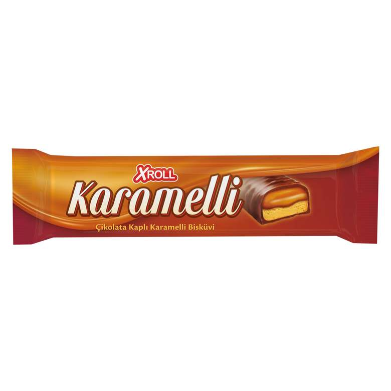 Xroll Bar Çikolata Karamelli 40 G