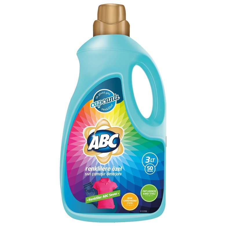 ABC Sıvı Çamaşır Deterjanı 3 L