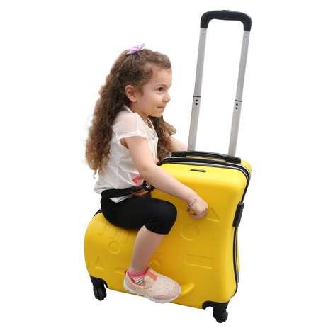 Raboom Abs Çocuk Valiz/Bavul - Sarı