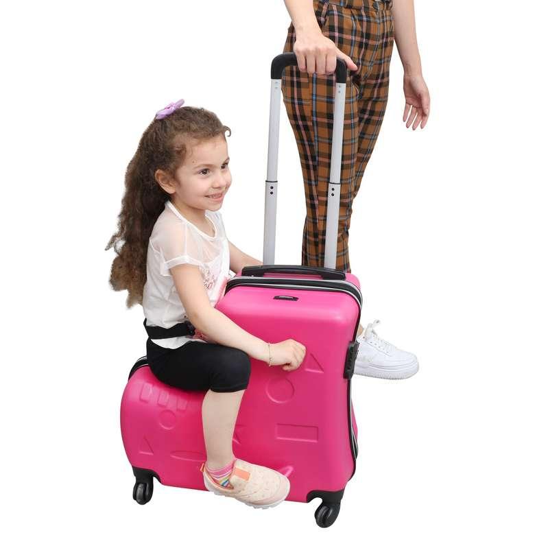 Raboom Abs Çocuk Valiz/Bavul Fuşya