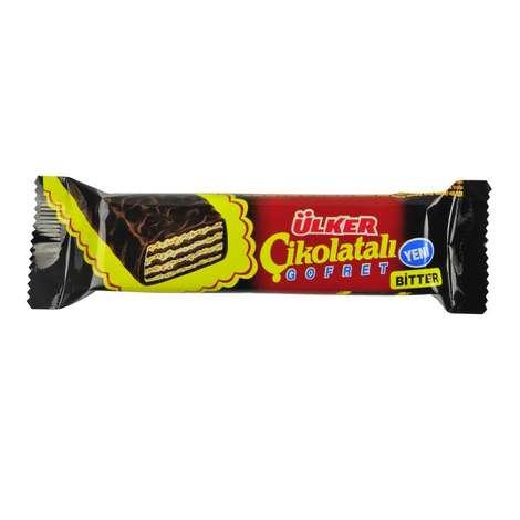 Ülker Gofret Bitter Çikolatalı 36 G