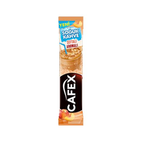Cafex Ice Latte Şeftali Aromalı 16 G
