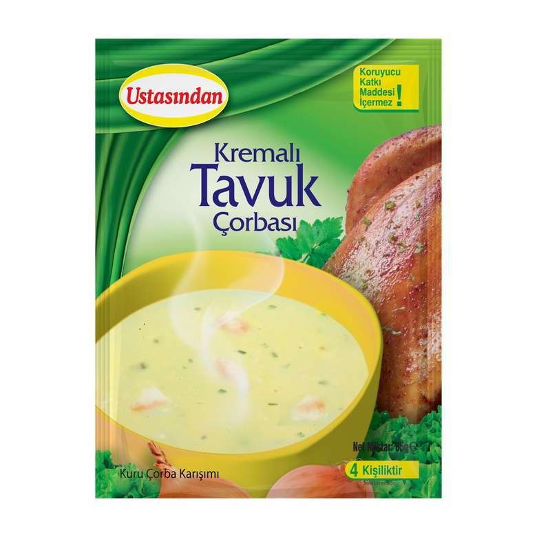 Ustasından Çorba Kremalı Tavuk 65 G