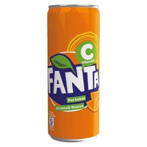 Fanta Gazlı İçecek Portakal 330 Ml
