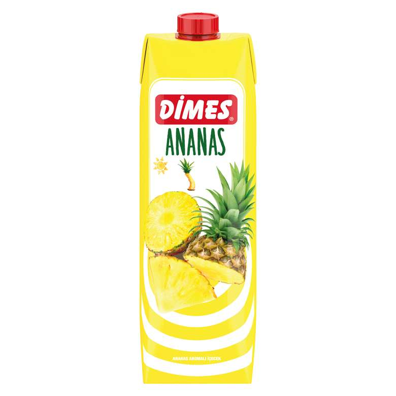 Dimes Meyve Nektarı Ananas 1000 Ml