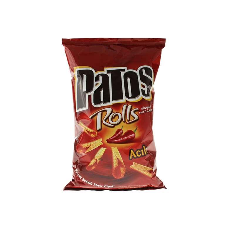 Patos Rolls Cips Mısır 109 G