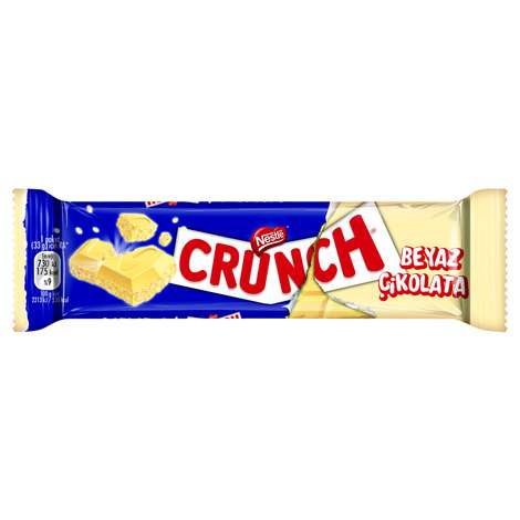 Nestle Crunch Çikolata Beyaz Pirinç Patlaklı 33 G