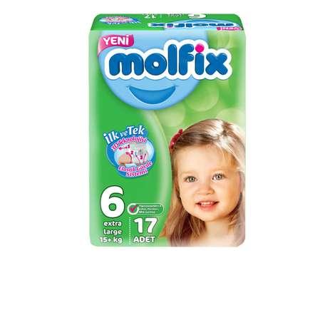 Molfix 6 Numara Extra Large 17'li Çocuk Bezi