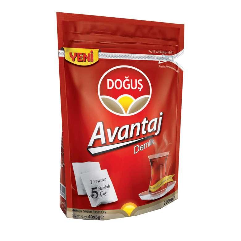 Doğuş Demlik Poşet Çay Avntaj Paket 40'lı 200 G