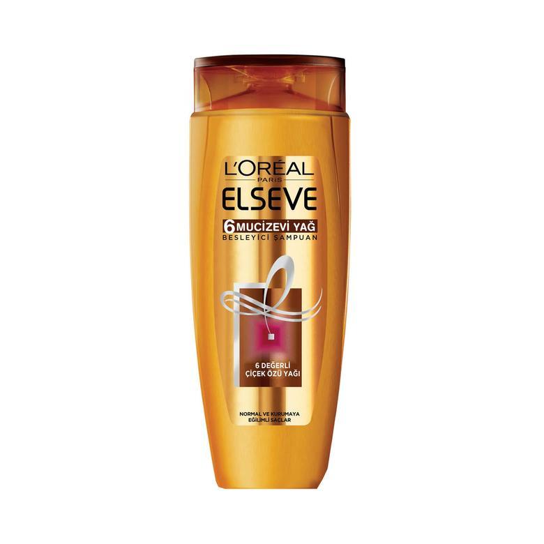 Elseve Şampuan 6 Mucizevi Yağ Besleyici 550 Ml