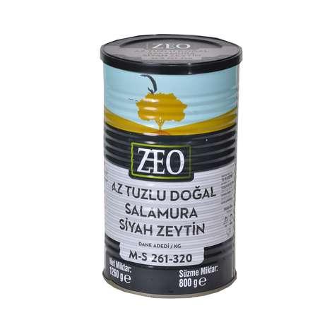 Zeo Siyah Zeytin Az Tuzlu M-s 800 G