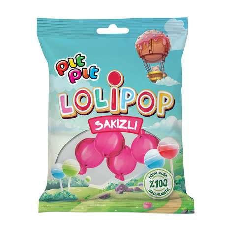 Pıt Pıt Şeker Meyveli Lolipop 6*18 G