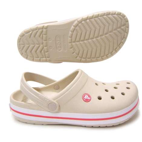 Crocs 11016-1AS  Crocband Bayan Terlik - Bej 37-38