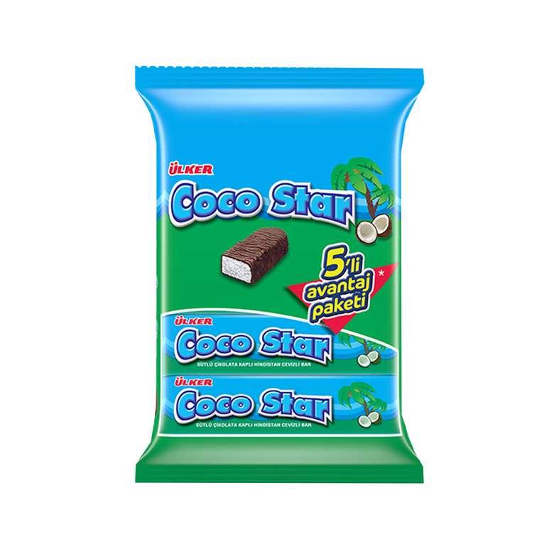 Ülker Coco Star Bar Çikolatalı Hindistan Cevizli 5x25 G