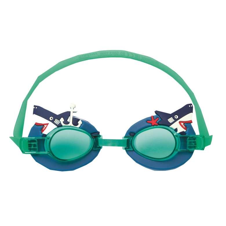 Bestway Karakter Lisanslı Yüzücü Gözlüğü - Köpekbalığı