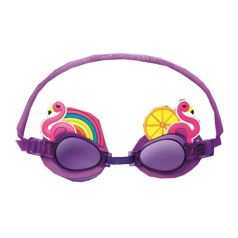 Bestway Karakter Lisanslı Yüzücü Gözlüğü - Flamingo