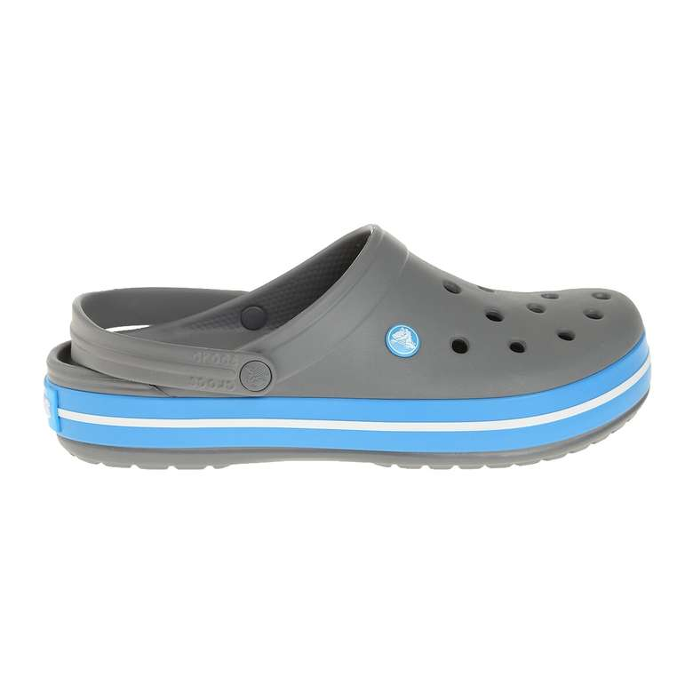 Crocs Crocband Erkek Terlik - Gri-Mavi 45-46