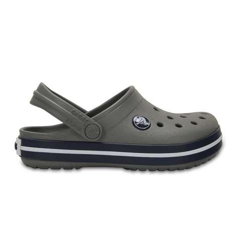 Crocs Crocband Çocuk Terlik 24-25 - Koyu Gri