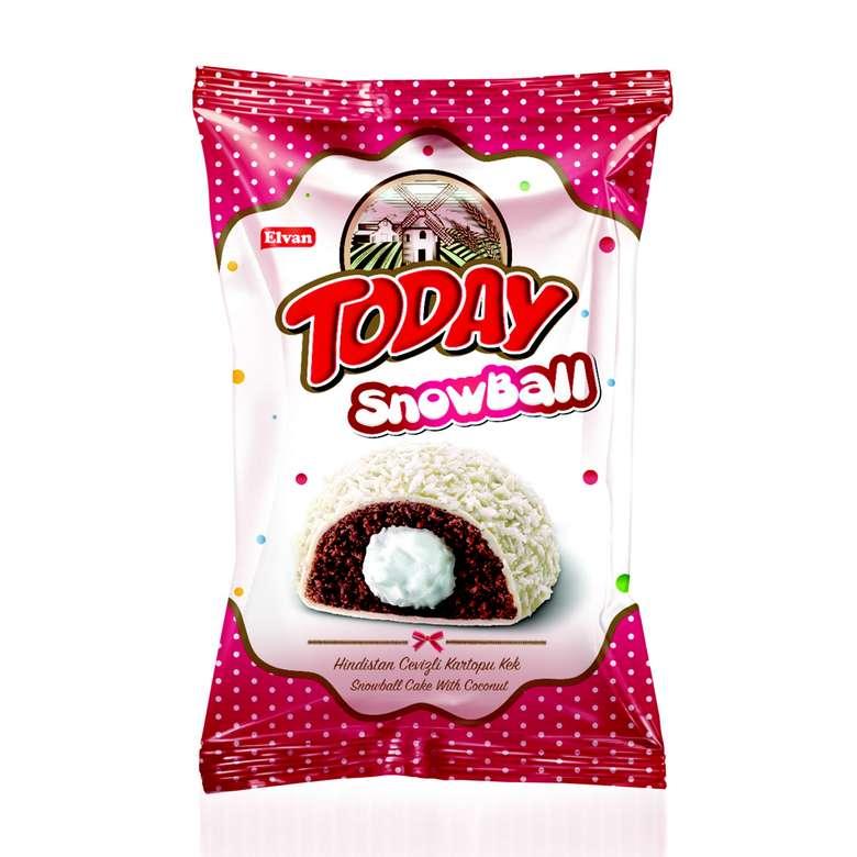 Snowball  Hindistan Cevizli Sütlü Kremalı Kek 50 G