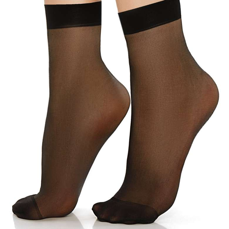 Doremi Kadın Soket Çorap Fit 15  - Siyah