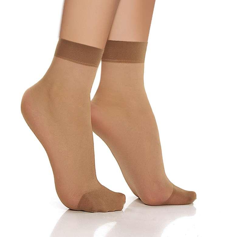 Doremi Kadın Soket Çorap Fit 15 - Bronz