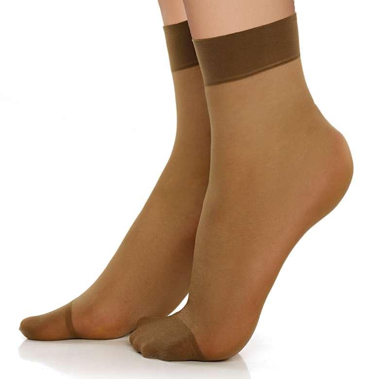 Doremi Kadın Soket Çorap Fit 15 - Vizon