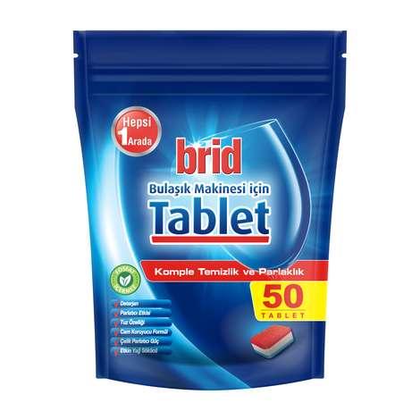 Brid Bulaşık Makinesi Tableti 50'li