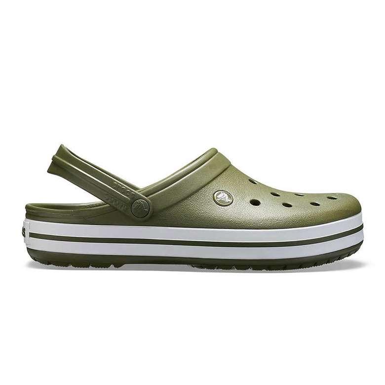 Crocs Crocband Bay Terlik 42-43- Yeşil