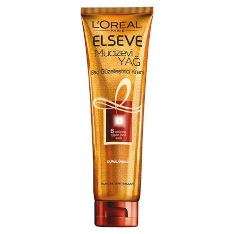 Elseve Mucizevi Yağ Saç Güzelleştirici Krem Kuru Ve Sert Saçlar 150 Ml