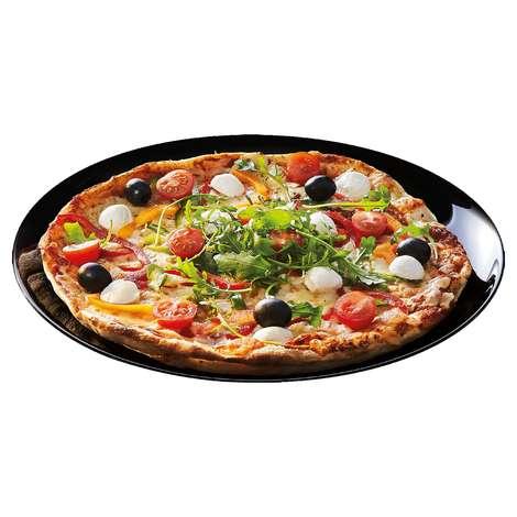 Arcopal Pizza Tabağı Siyah 32 Cm