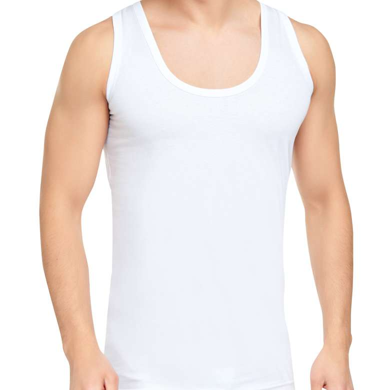 Silk & Blue Erkek Atlet  Beyaz S