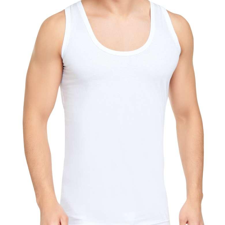 Silk & Blue Erkek Atlet  Beyaz L