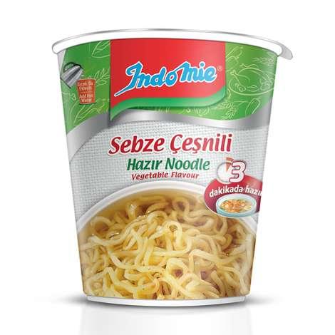 Indomie Noodle Bardak Sebze Çeşnili 60 G