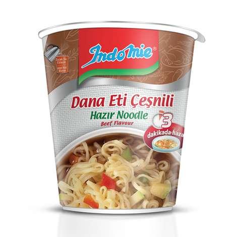 Indomie Noodle Bardak Dana Eti Çeşnili 60 G