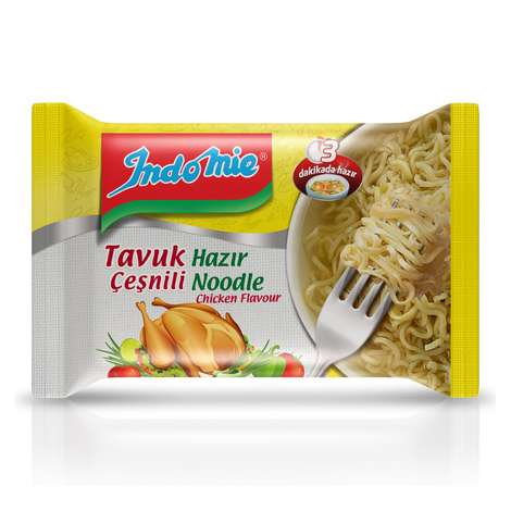 Indomie Noodle Paket Tavuk Çeşnili 70/75 G