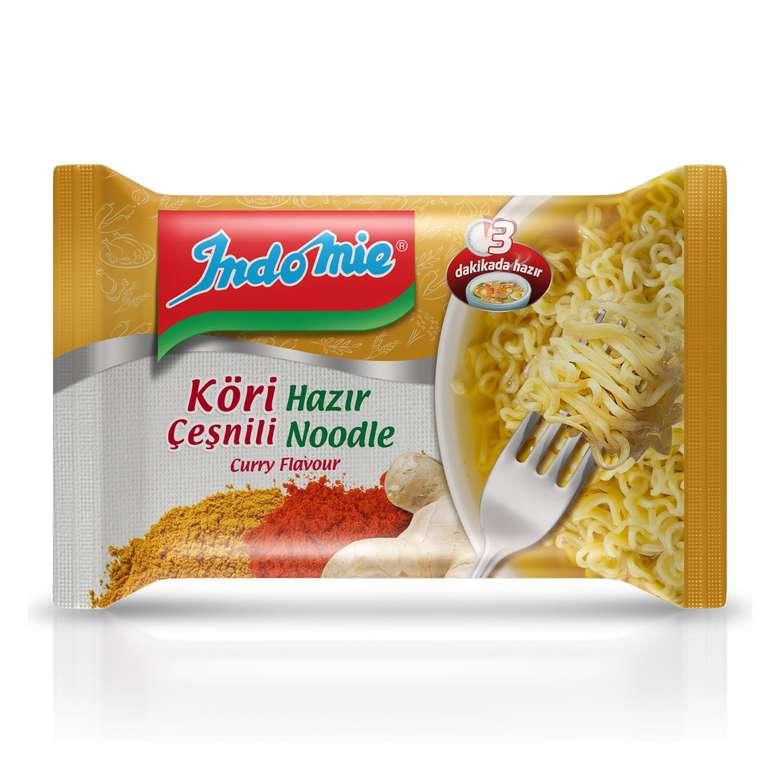 Indomie Noodle Paket Köri Çeşnili 70/75 G
