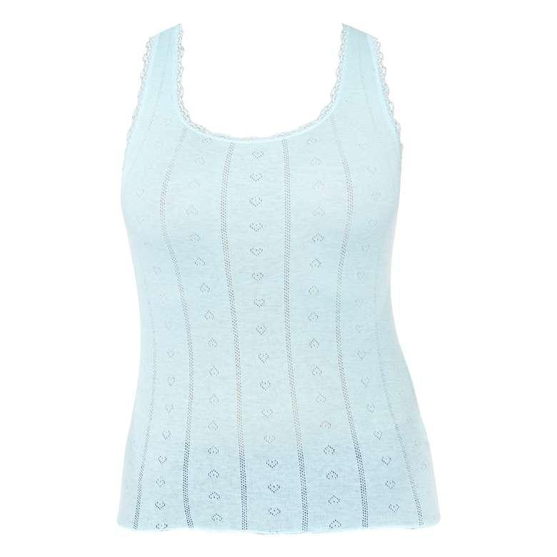 Silk&Blue Bayan Jakarlı Atlet Açık Mavi L-XL