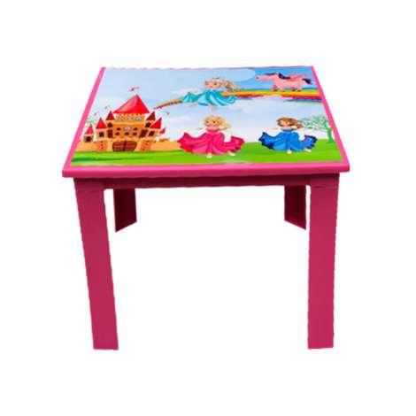 Çocuk Masası Pembe Prenses