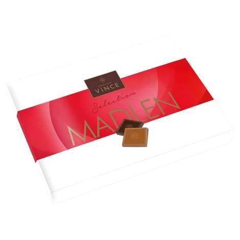 Vince Çikolata Sütlü/bitter Madlen 288 G