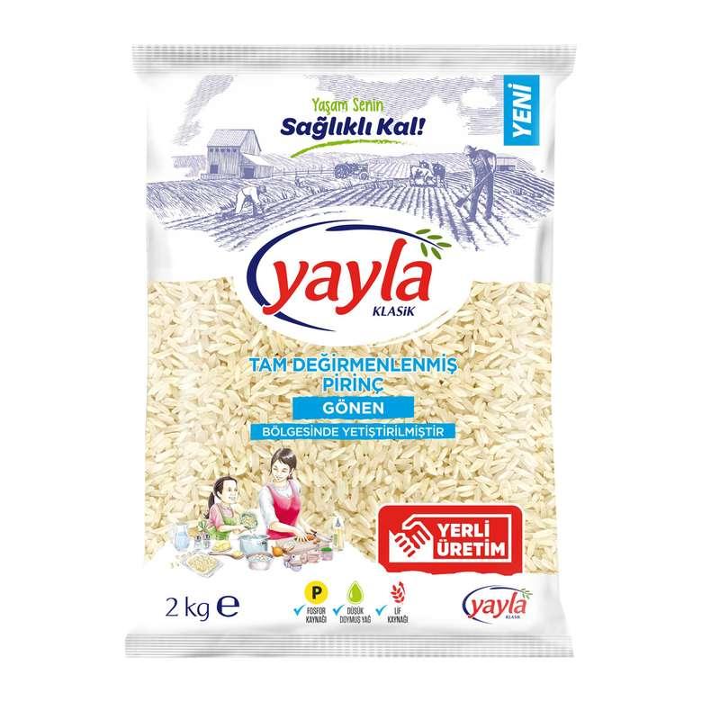 Yayla Pilavlık Pirinç Yerli 2000 G