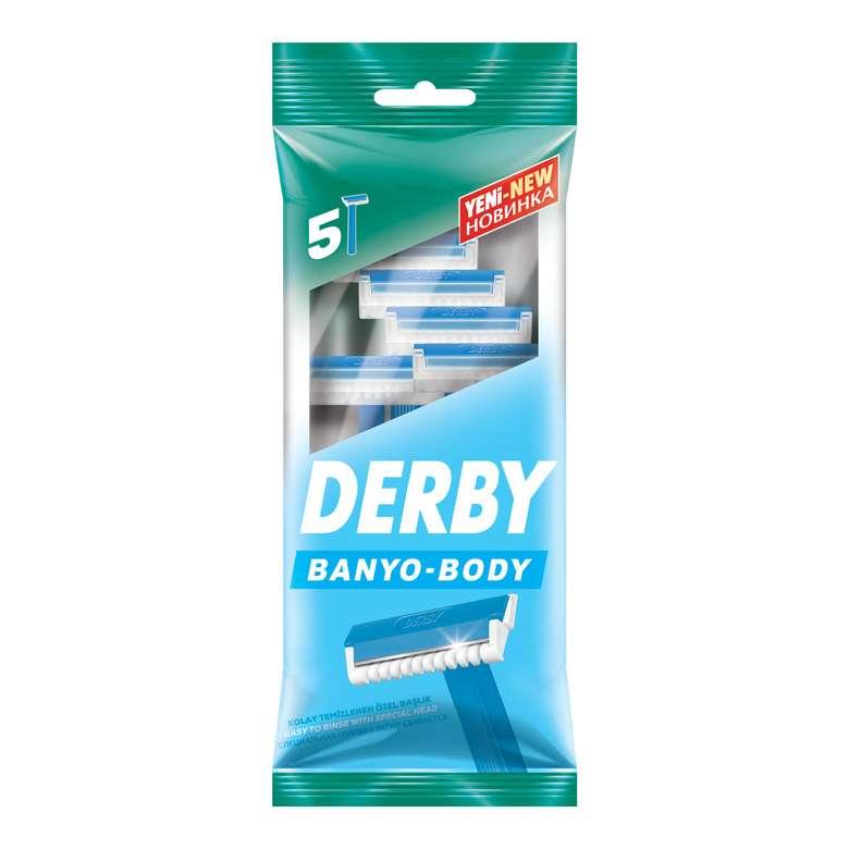 Derby Tıraş Bıçağı Banyo 5'li